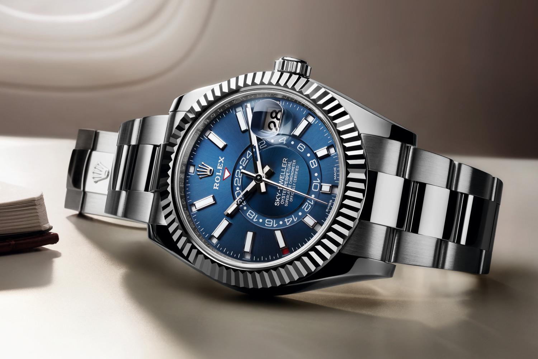 當今最複雜勞力士腕錶:一次認識Rolex Sky-Dweller